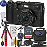 Fujifilm X100F Digital Camera (Black)+ 32GB Memory + Basic Photo Bundle