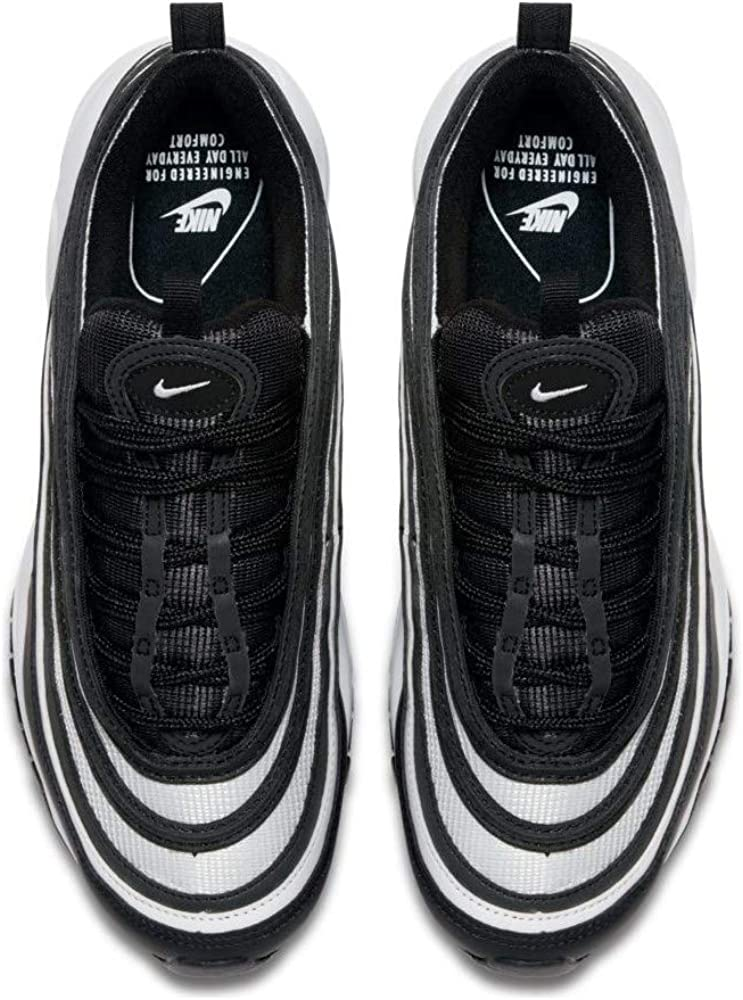 Nike W Air Max 97, Scarpe da Fitness Donna Nero Black Black White 001