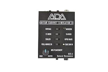 Amazon.com: A/DA GCS-3 Cabinet Simulator: Musical Instruments
