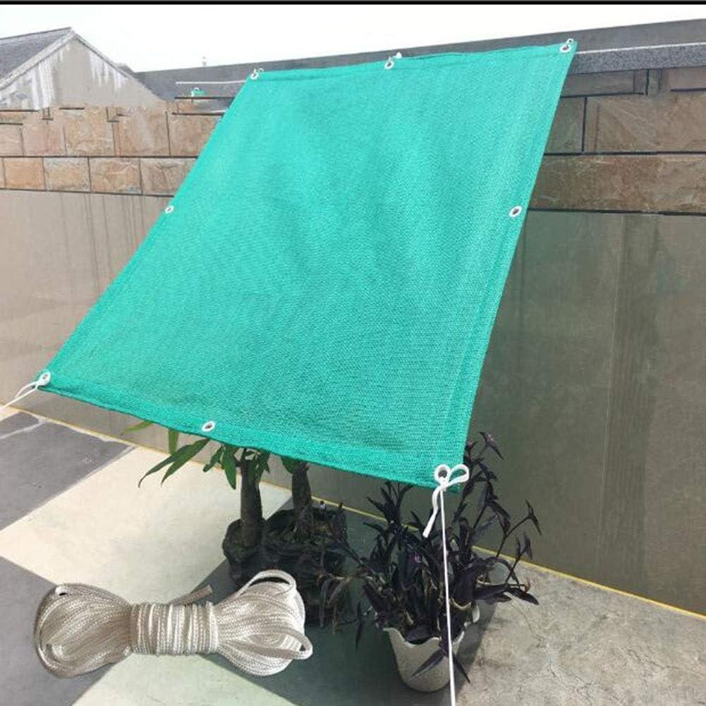XUERUI シェルター シェードクロス メッシュ タープ 日焼け止め シェードネッティング 以下のために ガーデン 植物 バルコニー パティオ 温室 スポーツ アウトドア (Color : 緑, Size : 2.5x6m) 緑 2.5x6m