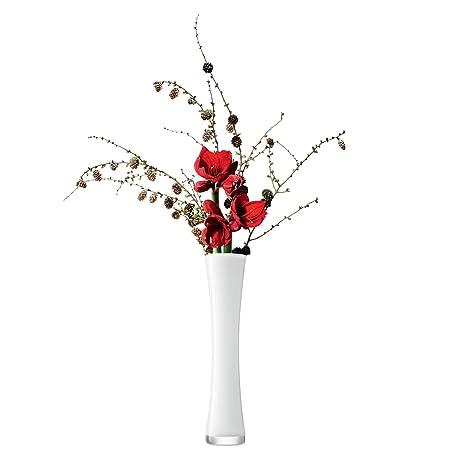 Lsa International 48 Cm Flower Colour Long Stem Vase White Amazon