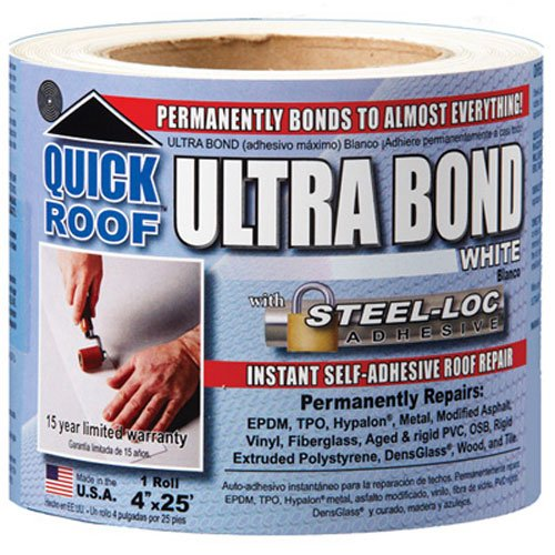 Cofair UBW425 Quick Roof Ultra Bond White 4
