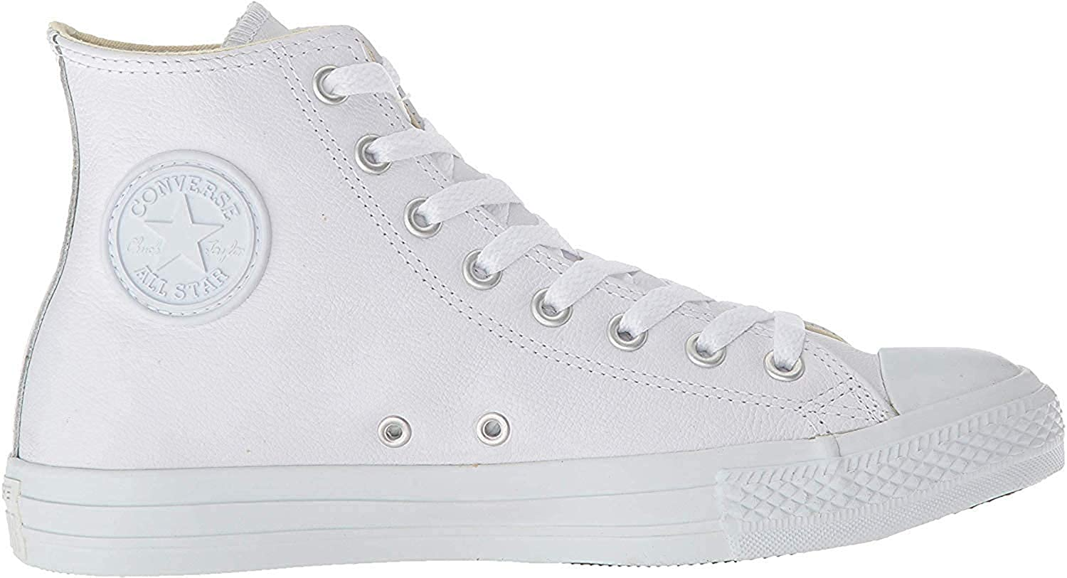 Converse Chuck Taylor All Star HI AQ564, Baskets mode mixte adulte Blanc White Monochrome 100