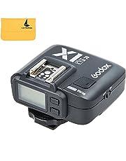 Godox X1C E-TTL Inalámbrico 2.4G Flash HSS 1/8000s 32 Canales Control Remote Receptor Inalambrico Disparador para Canon EOS 650D 600D 550D 500D 5D Serie Cámaras+ LETWING DIGITAL Paño (x1c-r)
