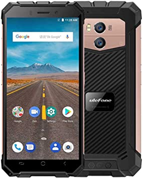 Ulefone Armor X IP68 Waterproof Mobile Phone Android 8.1 5.5