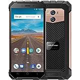Ulefone Armor X Rugged 4G Mobile Phone,2018 SIM Free Unlocked,5.5 Inch,IP68 Waterproof,Dual SIM Cards Dual 4G LTE Network,MTK6739 2GB RAM 16GB ROM 1.5Ghz CPU Android 8.1,5500mAh Battery - Rose Gold