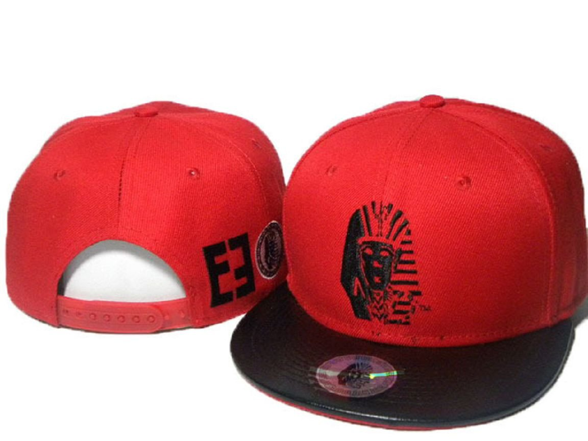 Red LK Last Kings - Gorra (Red.Black Logo con borde negro): Amazon ...
