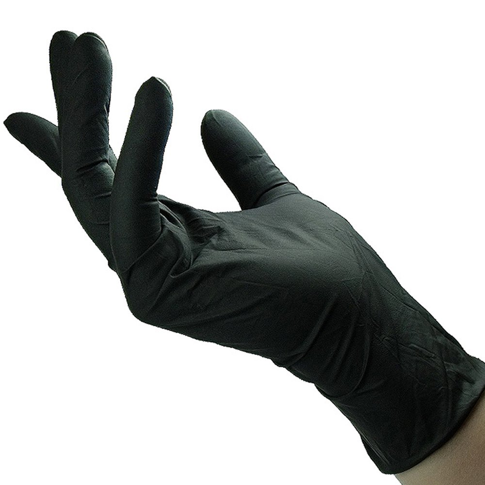 Shamrock 83012-M-bx Work, Nitrile Rubber, Thin, Cheap Medium, Black by Shamrock (Image #1)