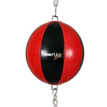 TurnerMAX - Calidad Comba Pelota de Boxeo con fijación Doble Bola ...