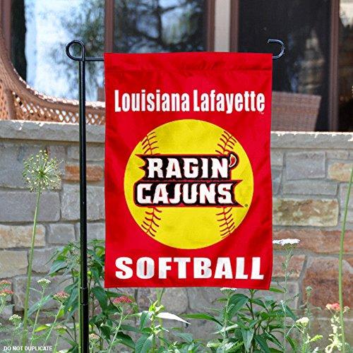 Louisiana Lafayette Rajun Cajuns Softball Garden Flag (Hanging Lafayette Outdoor)