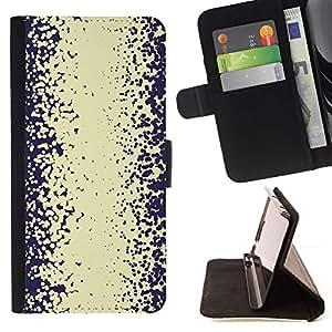 Resumen Camino etiqueta blanca- Modelo colorido cuero de la carpeta del tirón del caso cubierta piel Holster Funda protecció Para Samsung Galaxy Core Prime / SM-G360
