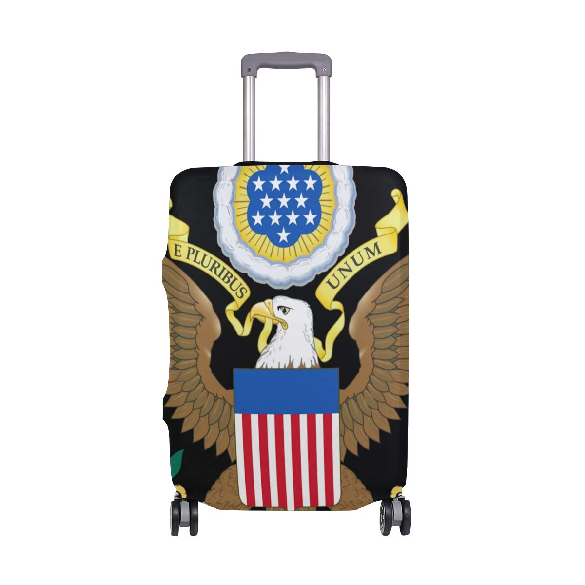 Travel Luggage Cover DIY Prints Protector Suitcase Baggage Fit 18-32 inch - Greater Coat Of Arms The United States