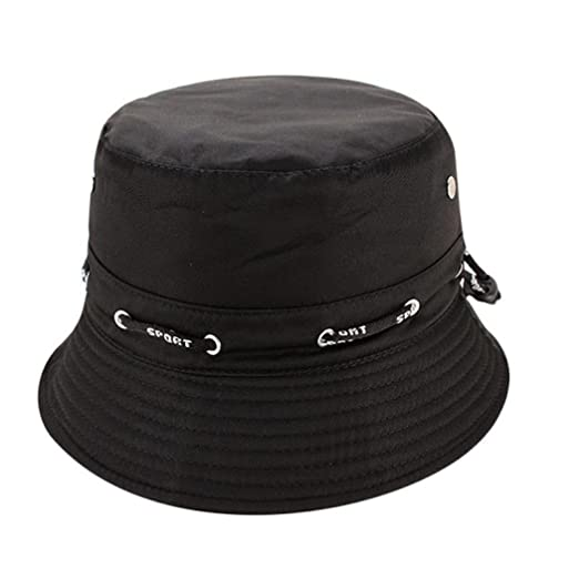 Voberry Unisex Boonie Hat Hunting Fishing Outdoor Cap Sun Hats Bowler Caps  (Black) 351e58874d0