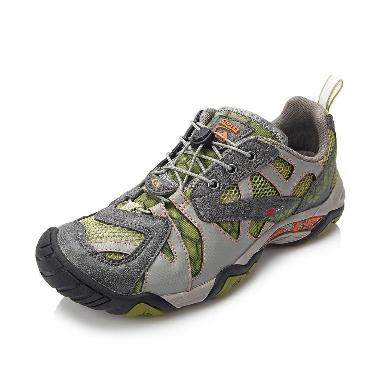 Clorts Men's Seaside Amphibious Athletic Pull On Water Shoe Hiking Water Sneaker WT24AB