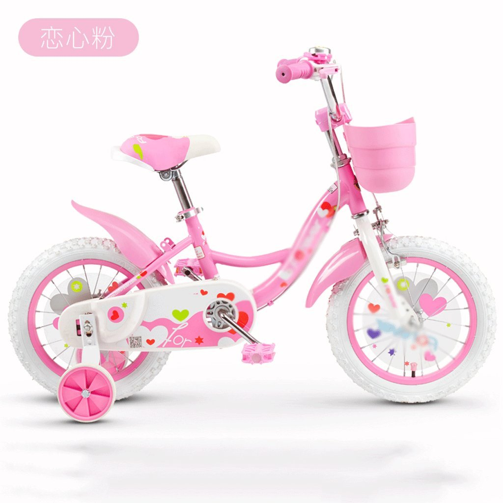 自転車 子供の自転車の女の子2-3-4-6-7-8-9-10歳の赤ちゃんのペダル自転車の子供の赤ちゃんのキャリッジ (サイズ さいず : 16 inch) B07DYKQ8X616 inch