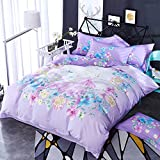 Duvet Cover Sets Cotton Active Printing Four Sets, Blue Mirror Dream, King