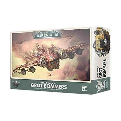 Aeronautica Imperialis Games Workshop Warhammer 40k Ork Air Grot Bommers 500-19: Toys & Games
