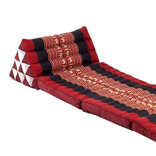 mck tailandés triángulo Almohada Fold out colchón cojín ...