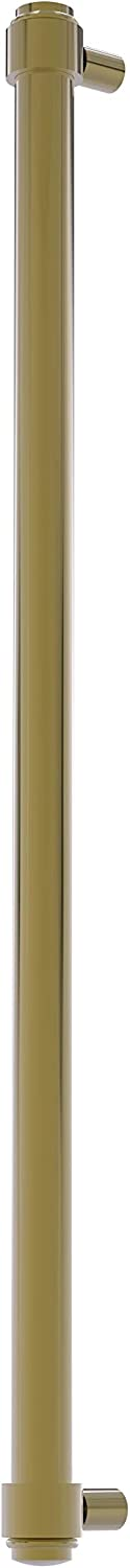 Allied Brass F-30-RP 18 Inch Refrigerator Appliance Pull, Unlacquered Brass