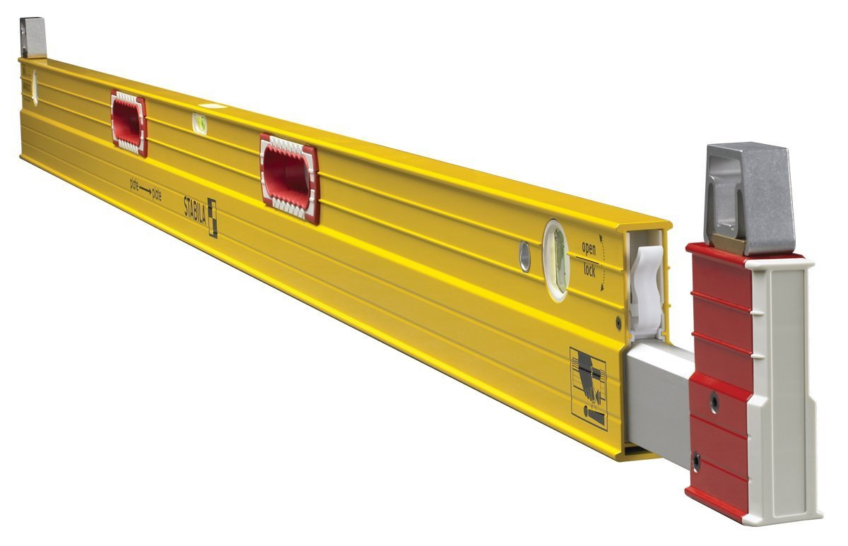 Stabila 35712 Extendable (7 to 12 foot) Plate to Plate Level