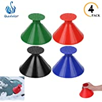 $20 » Snow Removal Tool Cone-Shaped Frost Removal Funnel Shaped Round Windshield Ice Scraper Car…