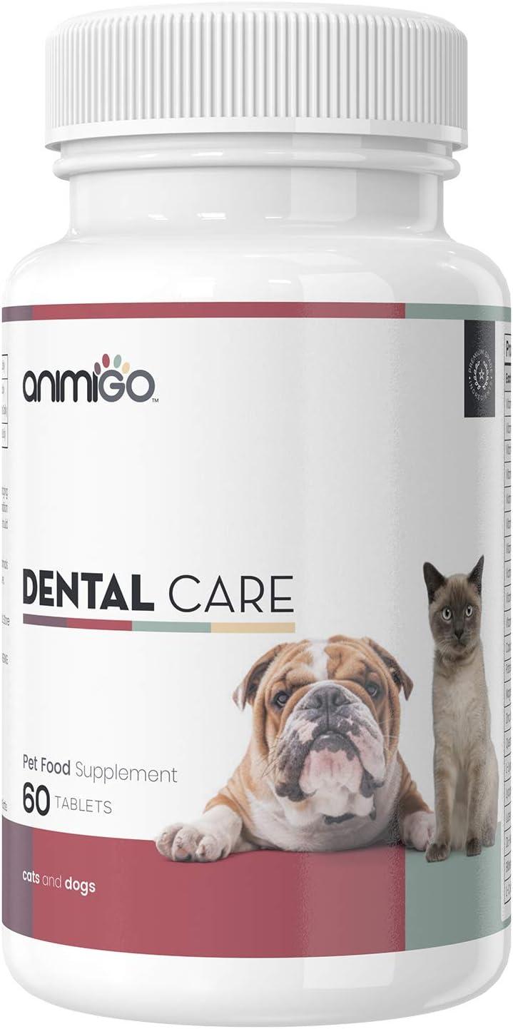 Animigo Cuidado Dental para Perros y Gatos | Suplemento Natural ...