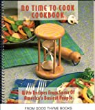 No Time to Cook Cookbook, , 0871978040