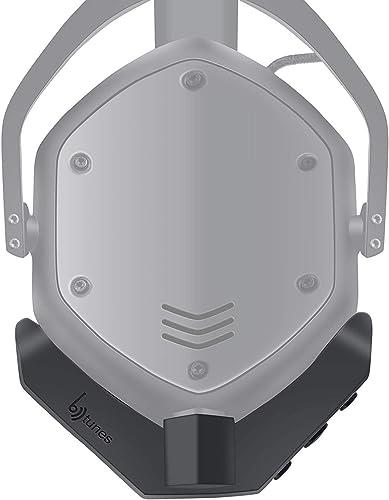 BTunes Wireless Bluetooth 5.0 Adapter for V-Moda Crossfade M100 Headphones Black