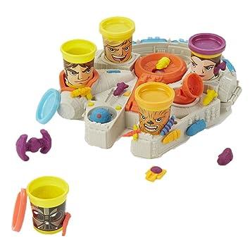Play-Doh - Playset Millenium Falcon con diseño Star Wars (Hasbro B0002)