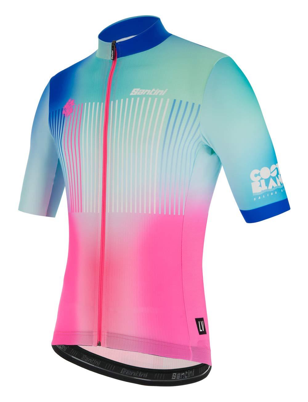 Santini La Vuelta-Costa Blanca 2019 Pantalones Cortos Hombre