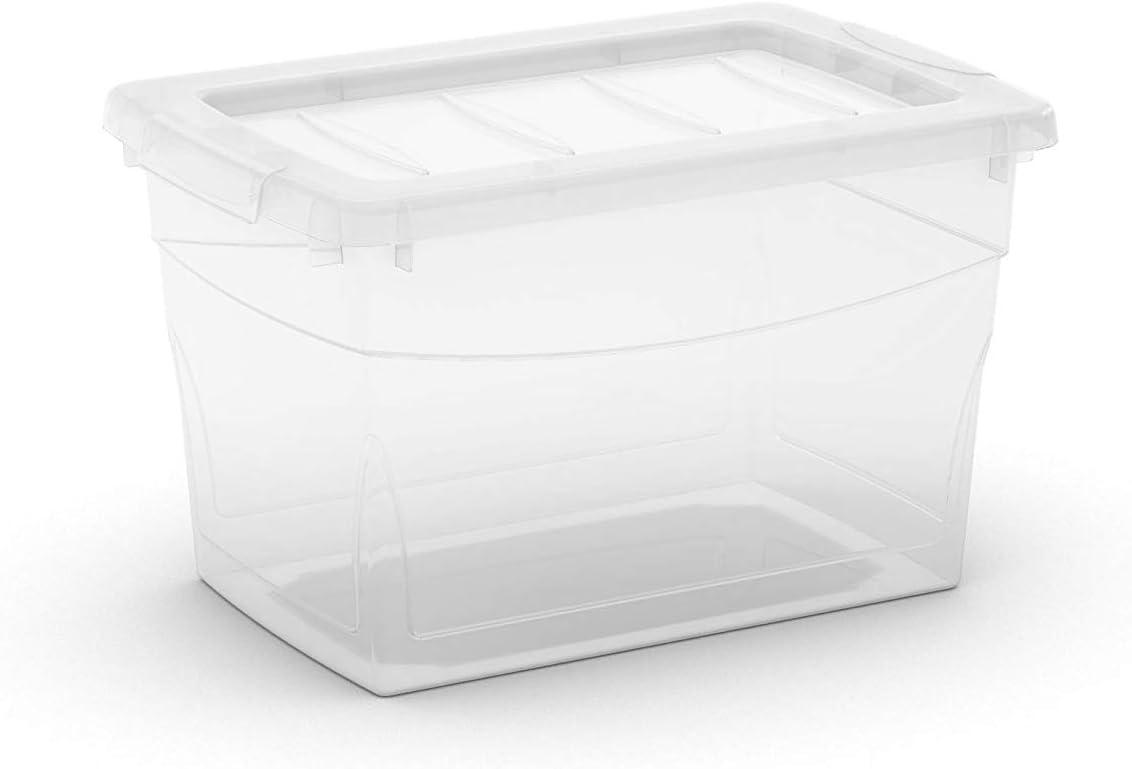 Omnibox S Transparente KIS Set Caja de Almacenamiento 6 Uds