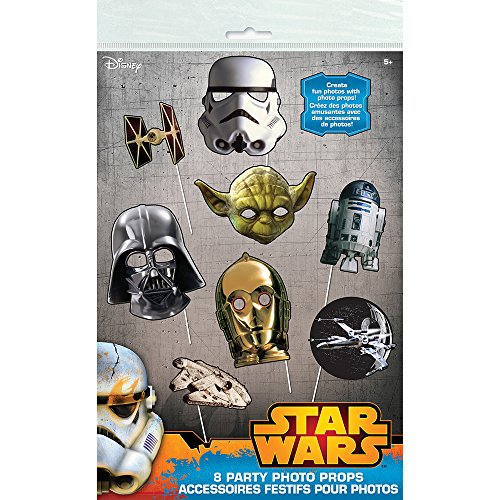 Classic Star Wars Photo Booth Props, 8pc]()