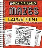 Brain Games®® Mazes Large Print