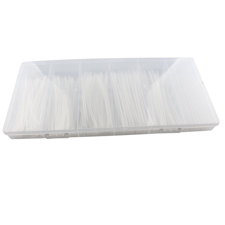 150/pcs 2 1/la chaleur Tube de gaine thermor/étractable Gaine transparente kit de c/âble pour fils Coque clair 6/tailles