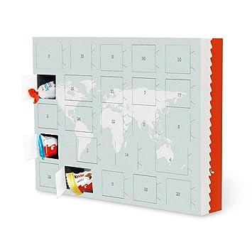 Living At Home Adventskalender ferrero map kartografie by jose molina advent calendar with