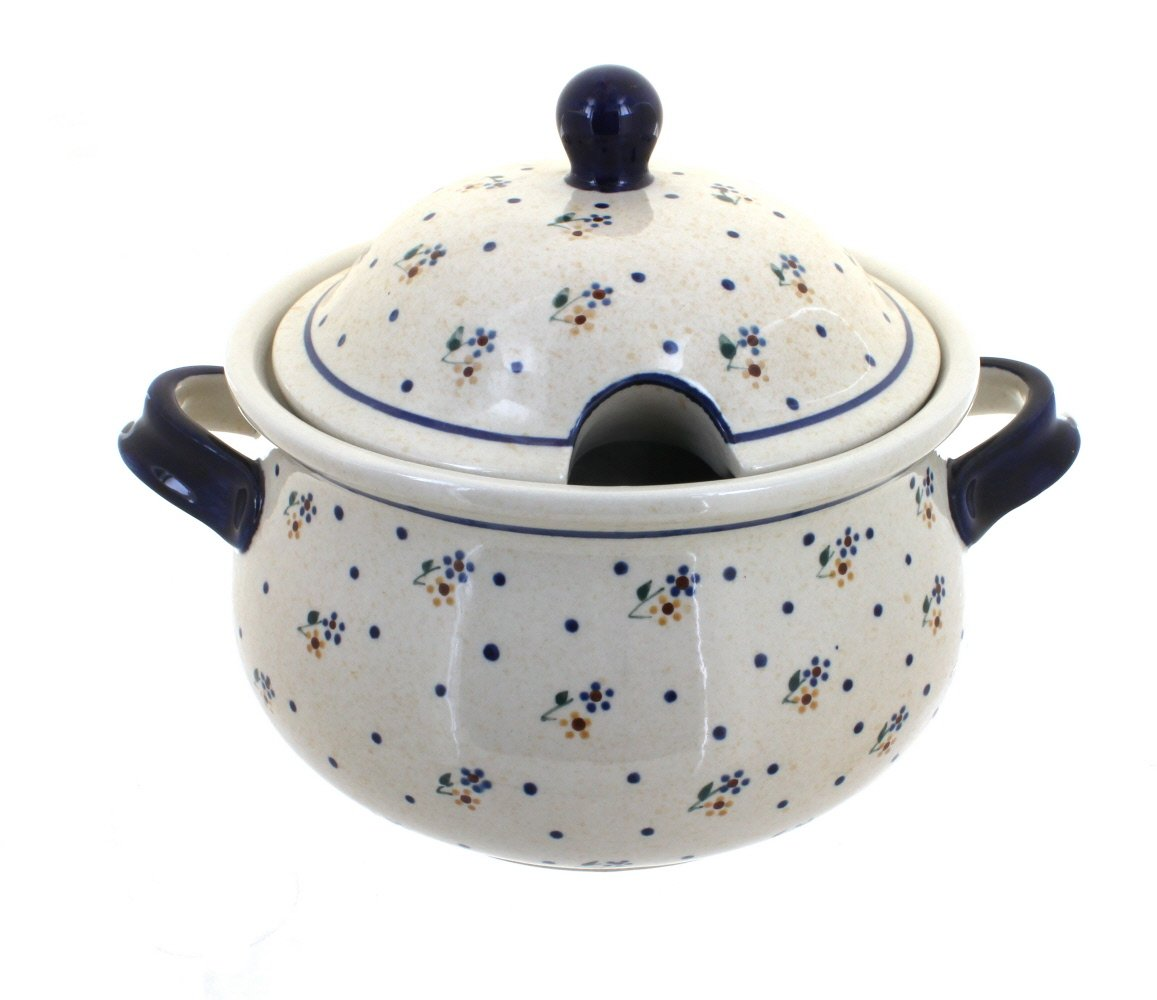 Polish Pottery Country Meadow Soup Tureen