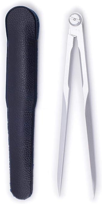 Plata. comp/ás n/áutico de metal A puntas fijas Color