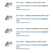 Amazon.com: Camco 59333 Horizontal Two Stage Propane
