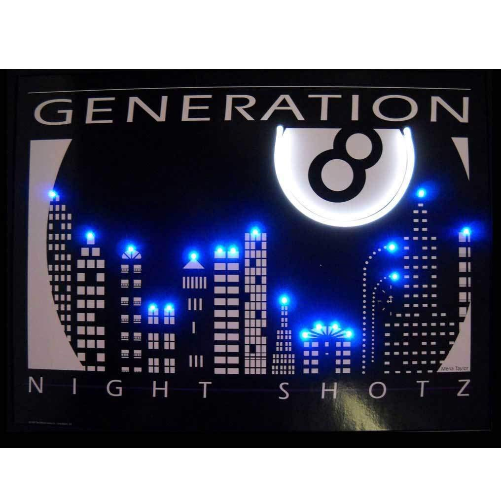 Neonetics Night Shotz Generation 8 NEON/LED Picture
