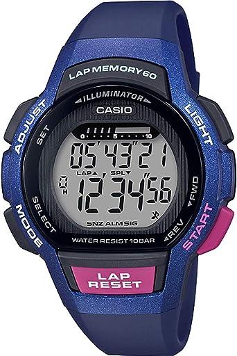 Casio Reloj Digital para Mujer de Cuarzo con Correa en Resina ...
