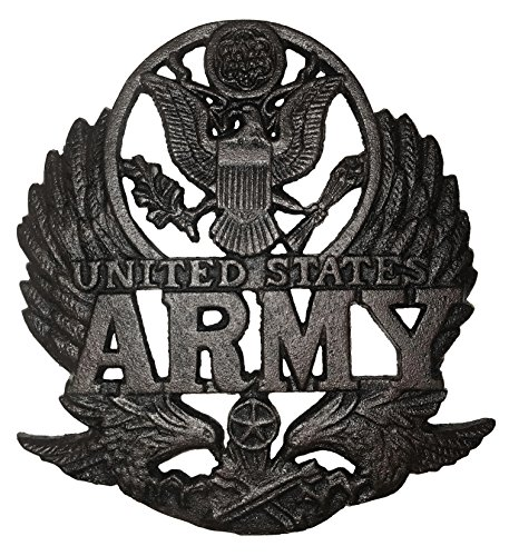 Military united states Army Wall art Cast Iron decoration memorabilia