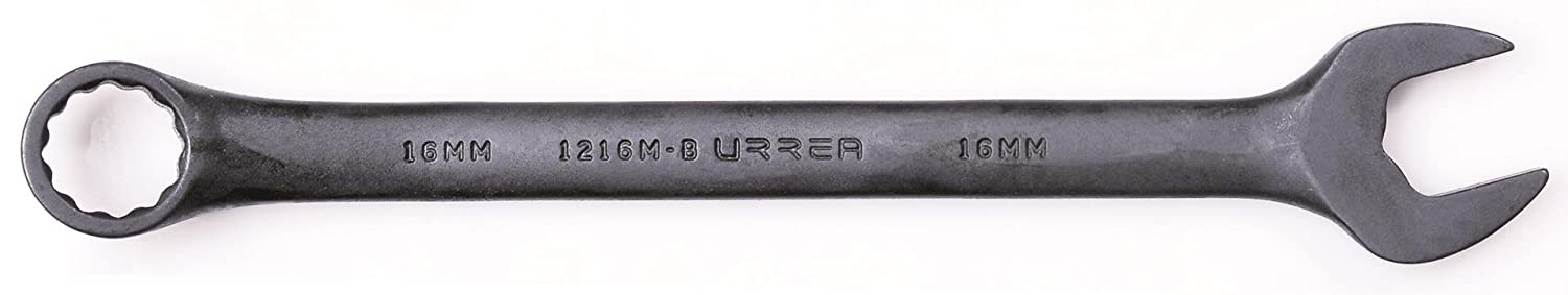 Urrea 1207MB 7mm 121 Point Combination Wrench Black Finish