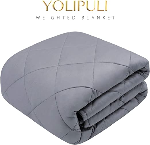 Queen Full *Award Winning*  Weighted Blanket Twin King Heavy 12 15 20 LB