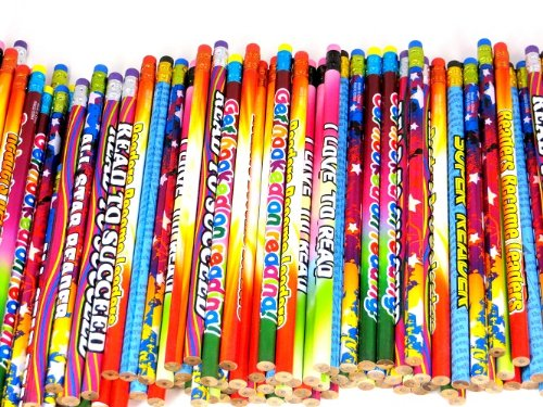 One Gross 144 Readers Pencil Assortment 7.5'' Long by Edison Novelty (Image #5)