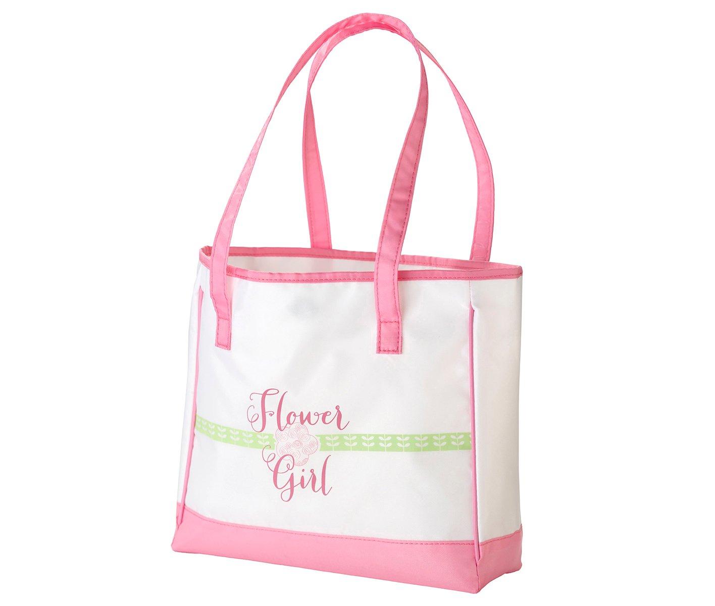 Amazon Lillian Rose Pink Flower Girl Tote Bag Keepsake Wedding