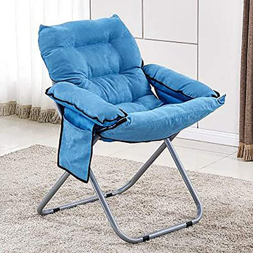 Zero Gravity Folding Lounge Chair, Sun Sofa Chair, Suitable for Living Room Bedroom Garden Balcony, for Resting Nap,Blue