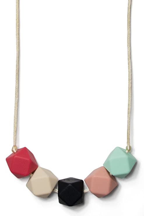 Mama & Little Teresa Silicone Baby Teething Necklace for ...
