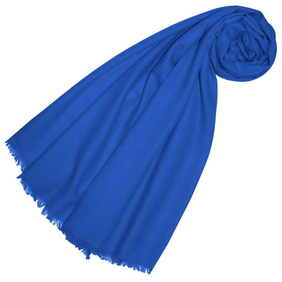 Lorenzo Cana Luxus Pashmina Damen Schal Schaltuch 100% Kaschmir leicht kuschelweich Kaschmirschal Kaschmirtuch Kaschmirpashmina einfarbig 78319