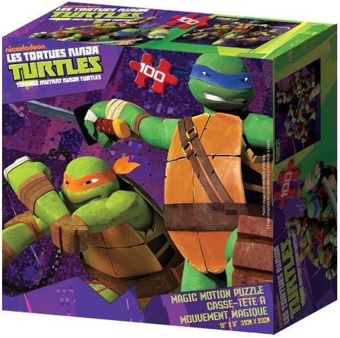 TEENAGE MUTANT NINJA TURTLES puzzle TORTUES NINJA