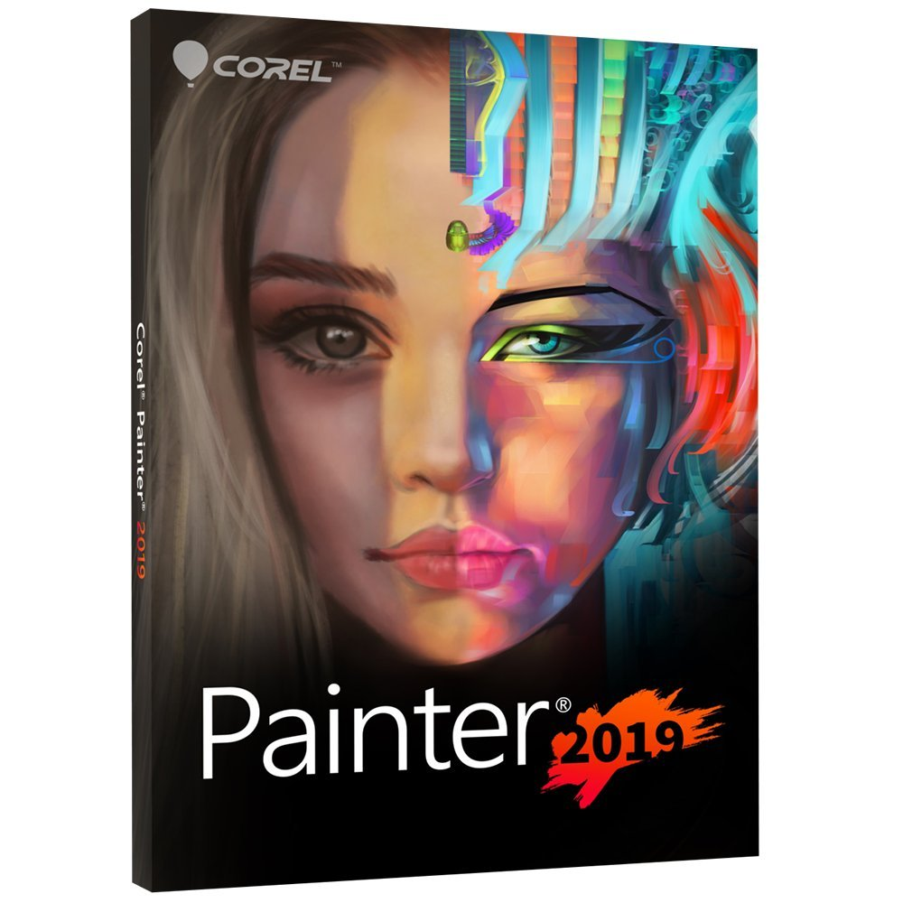 Corel Painter 2019 Digital Art Suite for PC/Mac by Corel